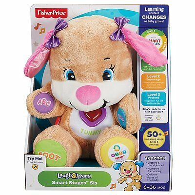 Fisher-Price Smart Stages Puppy Pink - NEW