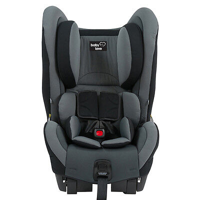 Babylove Ezy Switch EP Convertible Car Seat - Grey - NEW