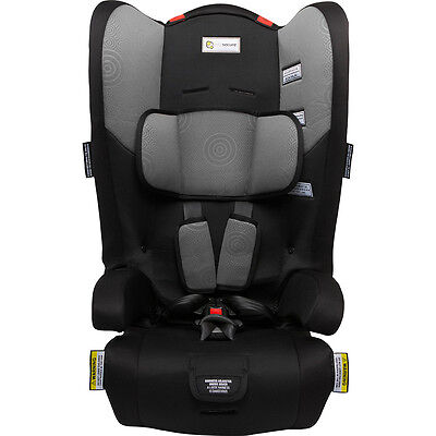 Infasecure Racing Kid II Convertible Booster Seat - Grey Swirl - NEW