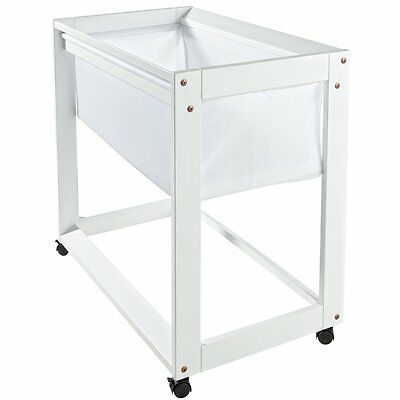Boori Waratah Bassinet White - NEW