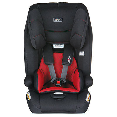 Mother's Choice Journey Harnessed Car Seat - Red - NEW
