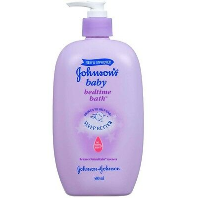 Johnson's Baby 500ml Bedtime Bath - NEW