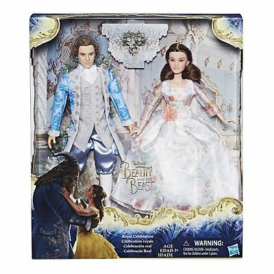 Disney Beauty And The Beast Royal Celebration Dolls - NEW