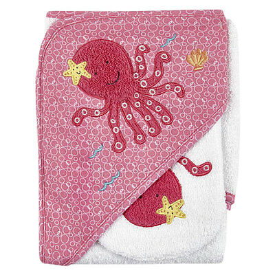 Koala Baby Octopus Hooded Towel & Washmitt - NEW