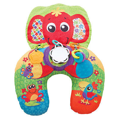 Playgro Elephant Hugs Activity Pillow - NEW