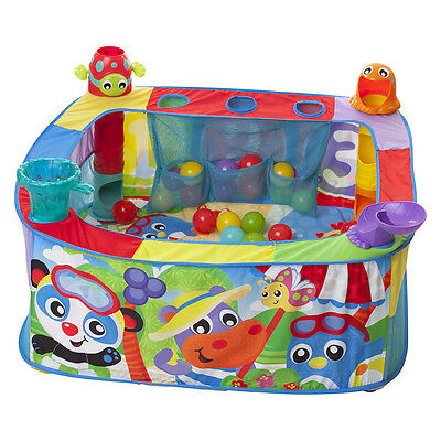Playgro Pop N Drop Ball Activity Gym - NEW