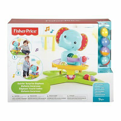 Fisher-Price Silly Safari Swirlin' Surprise Elephant - NEW