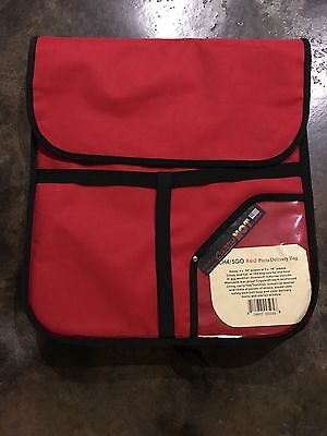 Lot of 2 Brand New Pizza Insulated Delivery Bag Holds 4 Pizzas Each. $120 Retail