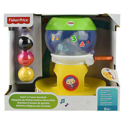 Fisher Price SS Swirl 'N Tunes Gumball - NEW