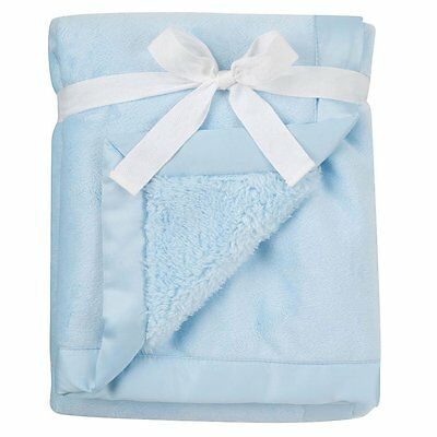 Babies R Us Blue Deluxe Blanket - NEW