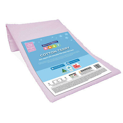 Protect A Bed Cotton Terry Pink Bath Support - NEW