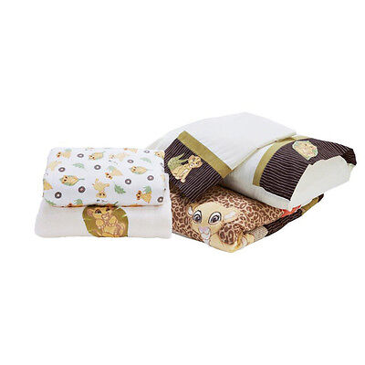 Kidsline Disney Lion King 5 Piece Cot Set - NEW