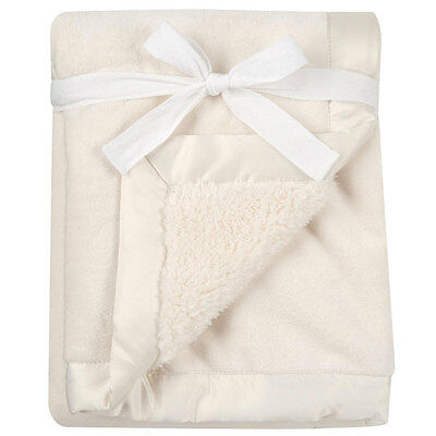 Babies R Us Cream Deluxe Blanket - NEW