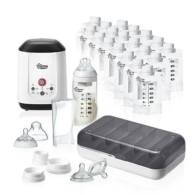Tommee Tippee Closer to Nature Express and Go Starter Set - NEW