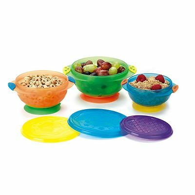 Munchkin Stay-Put Suction Bowls - NEW