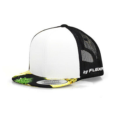 Flexfit Pineapple Toddler Black Trucker - NEW