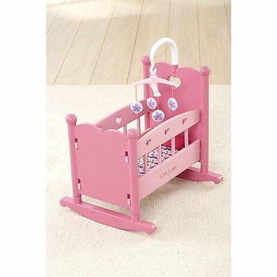 You & Me Baby Doll Rocking Cradle - NEW