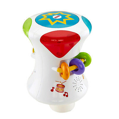 Fisher-Price Bright Beats 2-In-1 Musical Drum Roll - NEW
