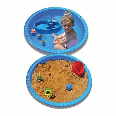 Stats Clam Shell Pool & Sand Pit - Blue - NEW