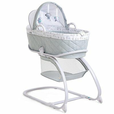 Babies R Us Keep Me Near Bassinet - Grey - NEW