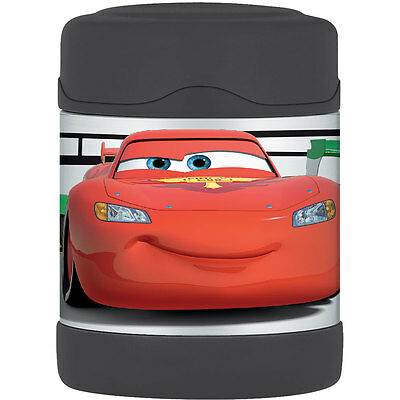 Thermos Stainless Steel Vacuum Insulated Food Jar 290ml - Disney Cars - NEW