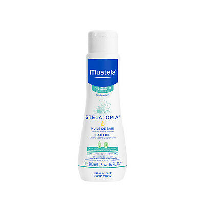 Mustela Milky Bath Oil 200ml - NEW
