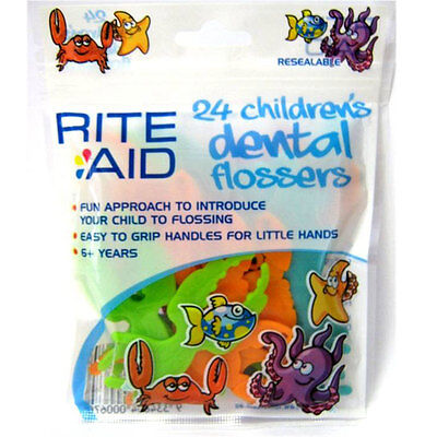 Rite Aid Children's Dental Flossers - NEW