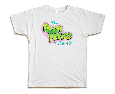 The Fresh Prince of Bel-Air Will Smith Custom Mens T-Shirt Tee S-3XL Brand New