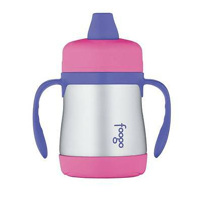 Thermos Stainless Steel Sippy Cup - Pink - NEW