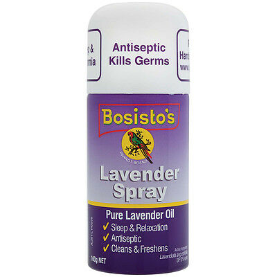 Bosistos Lavender Spray 100g - NEW