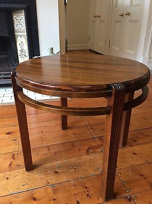 Art Deco Table- Vintage/Antique 1930's- Quality Timber