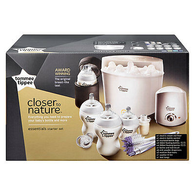 Tommee Tippee Closer to Nature Essentials Kit - White - NEW
