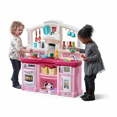 Just Like Home Fun With Friends Kitchen Playset Pink - NEW