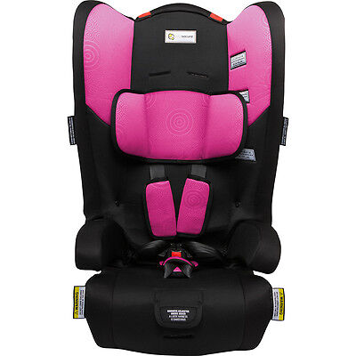 Infasecure Racing Kid II Convertible Booster Seat - Pink Swirl - NEW