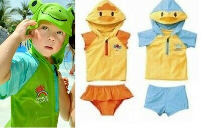 BABY KIDS SWIMSUIT SWIMMING TRUNKS COSTUME BIKINI ANIMAL SUNSUIT 18m 2 3 4 5 6y