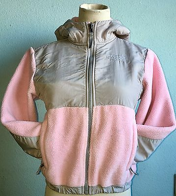THE NORTH FACE Polartec Pink Hooded Fleece Girls Size S