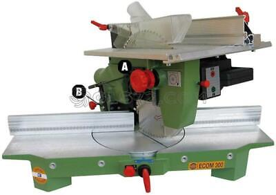 Mitre Saw Frame Wood Cutting Professional Pegic Ecom 300 220V Made In Italy