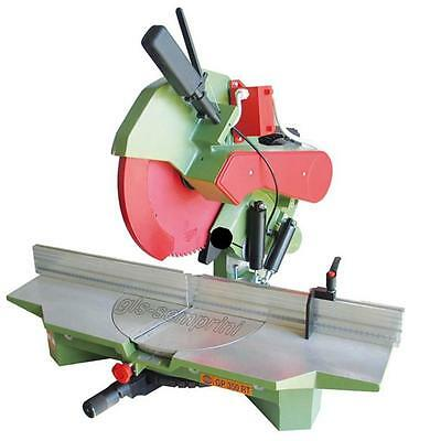 Mitre Saw Frame Wood Cutting Professional Pegic Gp 350 Rt Made In Italy