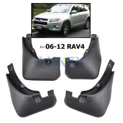 SPLASH GUARD MUD FLAPS fit for Toyota RAV4 With Fender Flare 2006-2012 MUDFLAPS