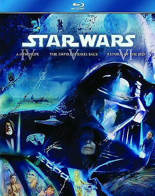 Star Wars The Original Trilogy (Episodes Iv-Vi) 3 Disc Box Set Blu-Ray Reg B New