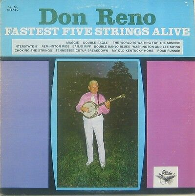 Don Reno fastest five strings alive