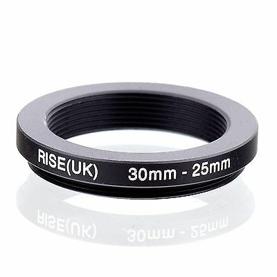 RISE(UK 30-25mm 30-25 Step Down Ring Filter Adapter for camera lens