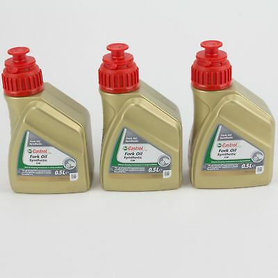 Castrol Fork Oil SAE 5W Synthetic Motorbike Shock Absorber Fluid [1.5L]