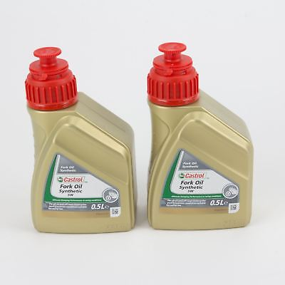 Castrol Fork Oil SAE 5W Synthetic Motorbike Shock Absorber Fluid [1L]