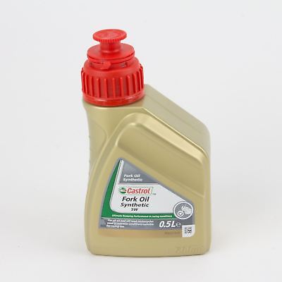 Castrol Fork Oil SAE 5W Synthetic Motorbike Shock Absorber Fluid [500mL]