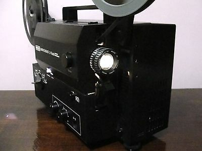 EUMIG MARK S 804 D 2-Track Standard 8mm / Super 8 SOUND Movie Projector