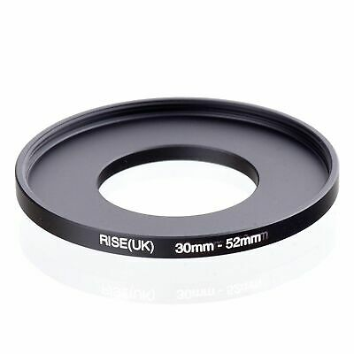 RISE(UK) 30-52mm 30mm to 52mm Stepping Step Up Filter Ring Adapter 30-52