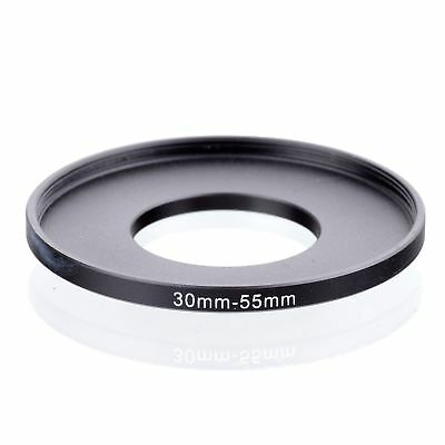 30-55mm 30mm to 55mm Stepping Step Up Filter Ring Adapter 30-55