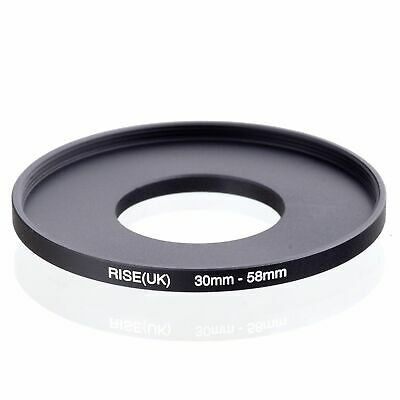 RISE(UK) 30-58mm 30mm to 58mm Stepping Step Up Filter Ring Adapter 30-58