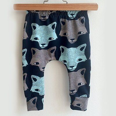 Baby Toddler Boys Girls Cotton Animal Leggings PP Kids Harem Pants Long Trousers